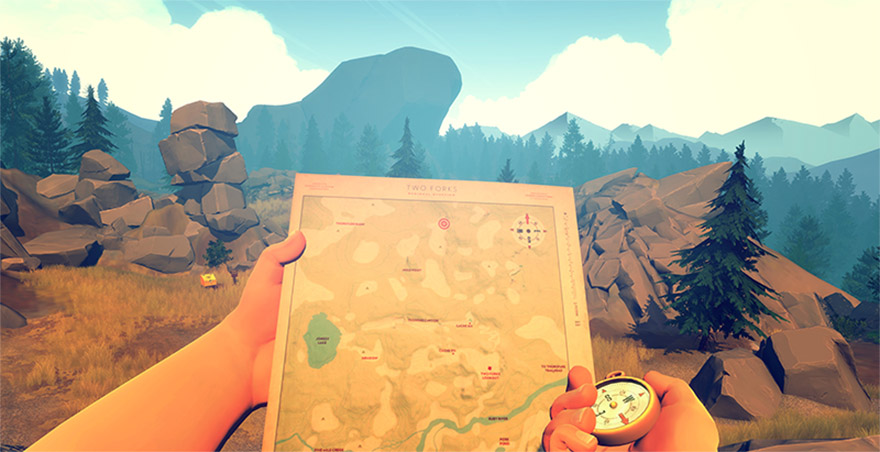 Firewatch by Campo Santo - Made in Unity