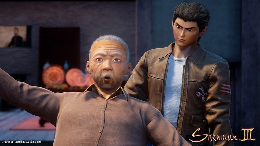 Man stumbling in Shenmue 3 Image