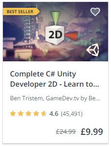 Complete C# Unity Course 2D