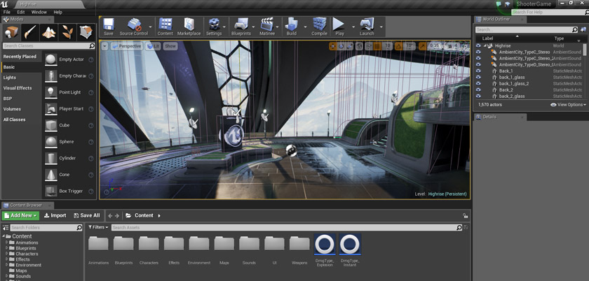 Unreal Engine Interface Image