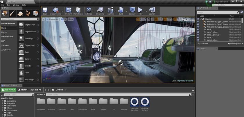 Unreal Engine Interface Image