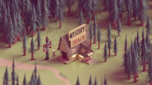 Low Poly art shack