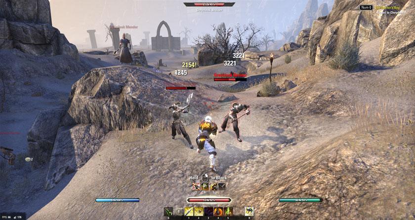 Elder Scrolls Online ESO Combat