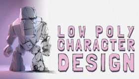 Low Poly Character Design Featured Image