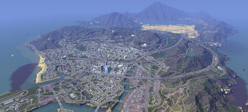 Cities Skylines Large City