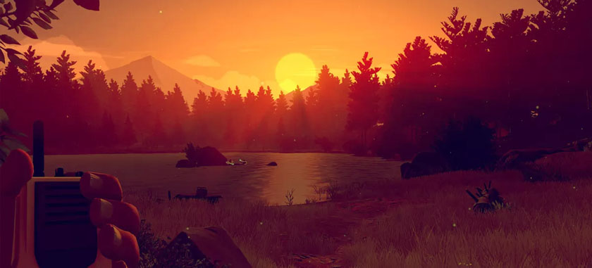 Firewatch Lake