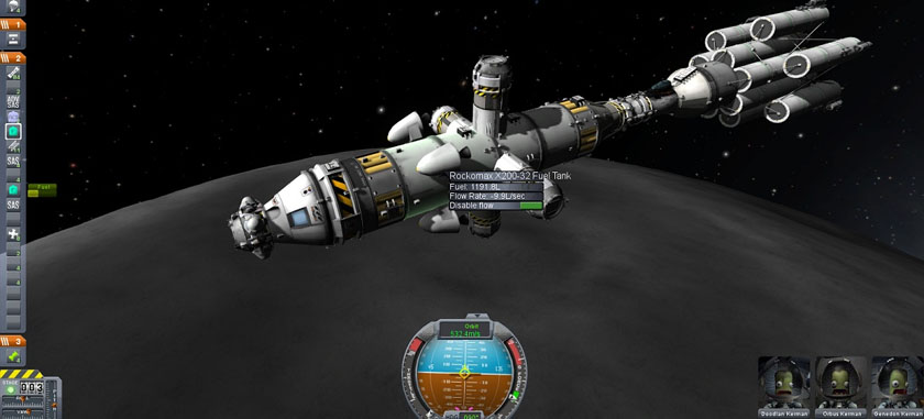 Kerbal Space Program Moon Orbit
